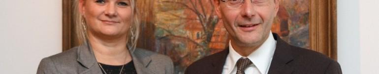 Antrittsbesuch beim sächsischen Innenminister Markus Ulbig