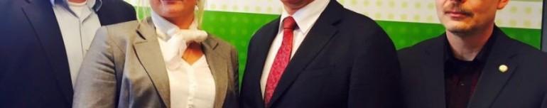 Gespräch mit dem Fraktionsvorsitzenden und dem Innenpolitischen Sprecher der CDU Sachsen