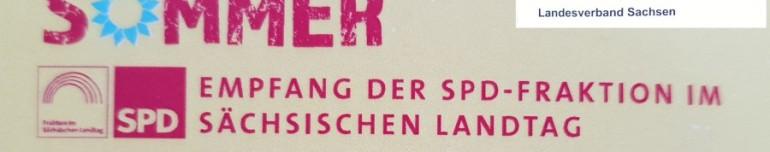 Sommerempfang der SPD Fraktion des Sächsischen Landtages in Dresden