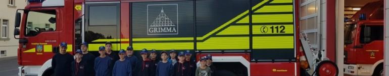Sachspende des KV Leipzig an die Jugendfeuerwehr Grimma
