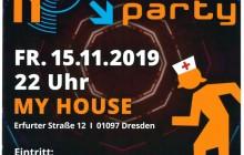 3. Blaulicht-Party am 15.11.2019