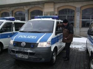 13.02.2013, Dresden, Betreuungseinsatz